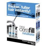 Redken Cerafill Retaliate Kit for Advanced Thinning Hair 22.3oz