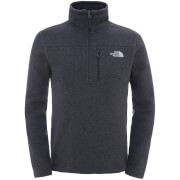 The North Face Men's Gordon Lyons 1/4 Zip Fleece - Alsphalt Grey Heather