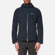 Jack Wolfskin Men's Ticume Hooded Jacket - Night Blue
