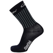 Santini Tour Down Under Glenelg Coolmax Socks 2017 - Black