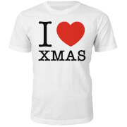 I Heart Xmas Christmas T-Shirt - White