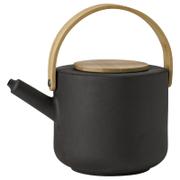 Stelton 1.25L Theo Teapot - Black