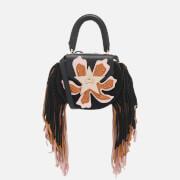 SALAR Women's Mimi Paradise Bag - Black/Natural/Soft Pink