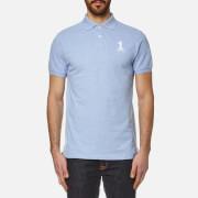 Hackett London Men's New Classic Polo Shirt - Sky/Navy