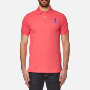 Hackett London Men's New Classic Polo Shirt - Coral