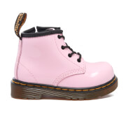 Dr. Martens Toddlers' Brooklee B Patent Lamper Lace Boots - Baby Pink