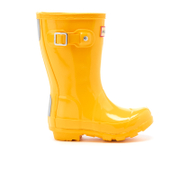 Hunter Toddlers' Original Gloss Wellies - Sunlight