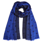 Paul Smith Men's Polka Jacquard Scarf - Navy