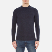 Superdry Men's Harlo Crew Jumper - Dark Indigo/Navy Twist