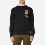 Maharishi Men's Integrated Crew Sweatshirt - Black