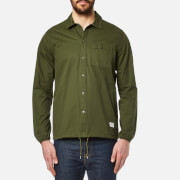 Penfield Men's Blackstone Drawstring Hem Shirt - Olive