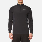 Craghoppers Men's NosiLife Active Long Sleeve Half Zip Jumper - Black Pepper