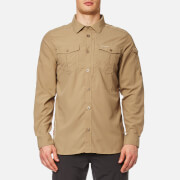 Craghoppers Men's NosiLife Adventure Long Sleeve Shirt - Camel