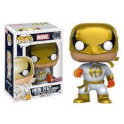 Marvel Iron Fist White Costume LE Pop! Vinyl Bobble Figur - FCBD Previews Exclusive