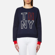 Tommy Hilfiger Women's Damaris Crew Neck Sweatshirt - Peacoat