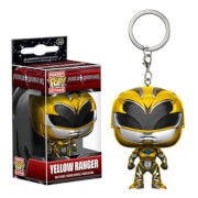 Porte-Clef Pocket Pop! Power Rangers Jaune