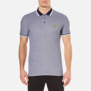 Lyle & Scott Men's Tipped Polo Shirt - Navy