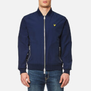 Lyle & Scott Men's Nylon Bomber Jacket - Navy