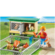 Playmobil Rabbit Pen with Hutch (6140)