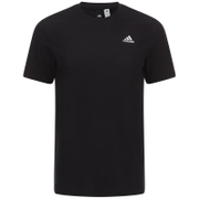 adidas Men's Essential Logo T-Shirt - Black