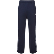 adidas Men's Essential 3 Stripe Fleece Sweatpants - Navy