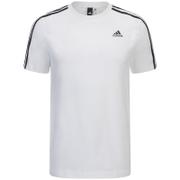 Camiseta Adidas Essentials 3 bandas - Hombre - Blanco