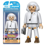 Funko x Playmobil: Back to the Future - Doc Verzamelfiguur
