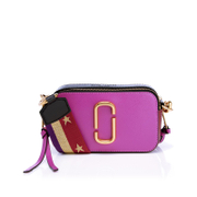 Marc Jacobs Women's Snapshot Bag - Lilac/Multi