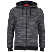 DFND Men's Gallows Fine Stripe Hoody - Black