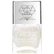 nails inc. The Mindful Manicure Good Vibes Only Rainbow Top Coat 14ml