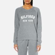 Tommy Hilfiger Women's Track Top - Mid Grey Heather