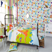 Superfresco Easy Kids' Dinoroar Dinosaur Multi Wallpaper