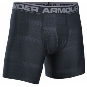 "Under Armour Men's Original 6"""" Print Boxerjock - Black/Steel"