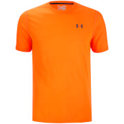 Under Armour Men's Threadborne Fitted T-Shirt - Phoenix Fire/Stealth Grey