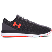 Under Armour Men's Slingflex Running Shoes - Black/Phoenix Fire