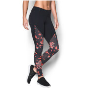 Under Armour Women's Mirror Printed Studio Tights - Black