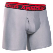 "Under Armour Men's Original 6"""" Boxerjock - True Grey Heather"