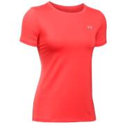 Under Armour Women's HeatGear Armour T-Shirt - Pomegranate