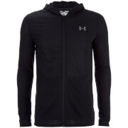 Under Armour Men's Threadborne Fitted Full Zip Hoody - Black