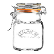 Kilner Mini Clip Top Square Jars - 70ml – set of 12