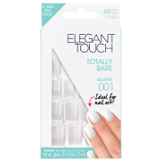 Ongles Totally Bare Elegant Touch – Square 001
