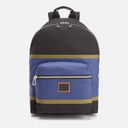 Paul Smith Men's Stripe Backpack - Black