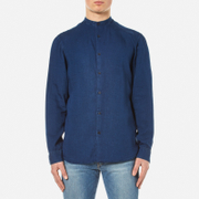 Selected Homme Two Loose Long Sleeve Shirt - Dark Blue Denim