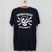 Uppercut Grease Monkey Lives T-Shirt - Navy/White Print