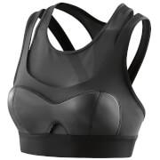 Skins A400 Women's Compression Crop Top - Empire Black