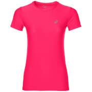 Asics Women's Run T-Shirt - Diva Pink