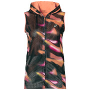 Asics Women's FuzeX Sleeveless Hoody - Sea Wave/Diva Pink