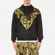 Versace Jeans Men's Zipped Hooded Jacket - Nero