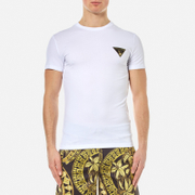 Versace Jeans Men's Small Logo Basic T-Shirt - Bianco