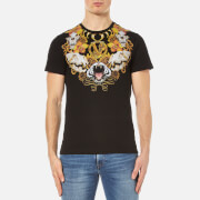 Versace Jeans Men's Lion Print T-Shirt - Nero